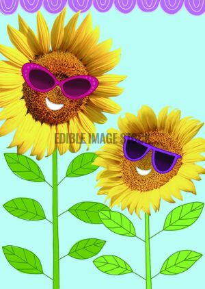 mothers day sun flowers background