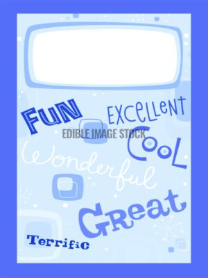 Fathers Day fun cool-blue