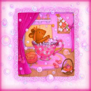 Mothers Day Mouse Teacup