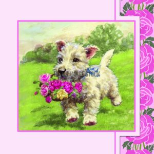 mothers day dog
