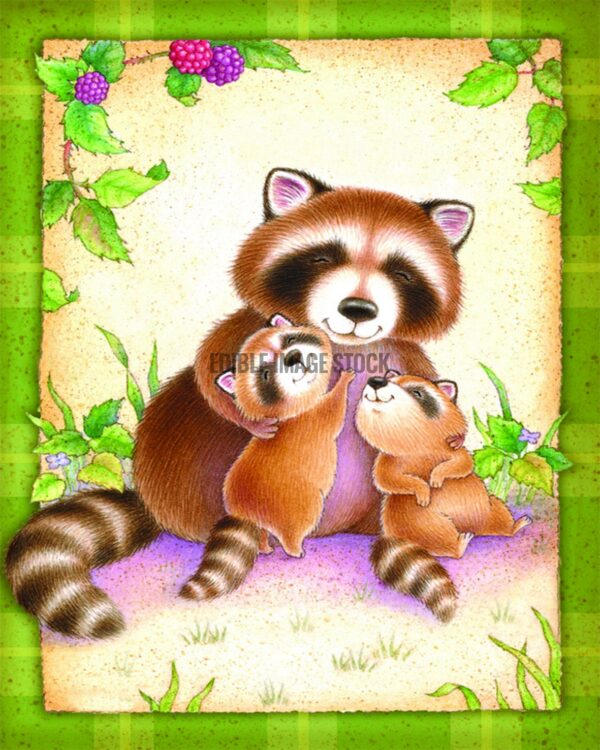 Fathers Day racoon